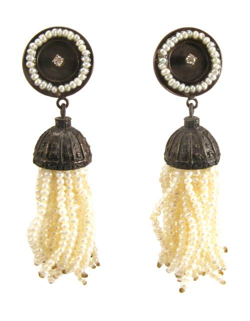 Fringe, earrings