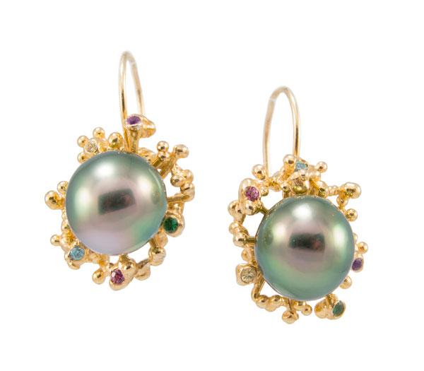 Tides, earrings
