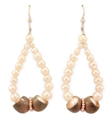 Bow, earrings