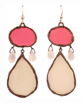 Neon Tears, earrings