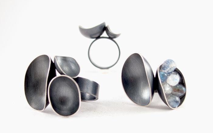 Wax + Wane rings