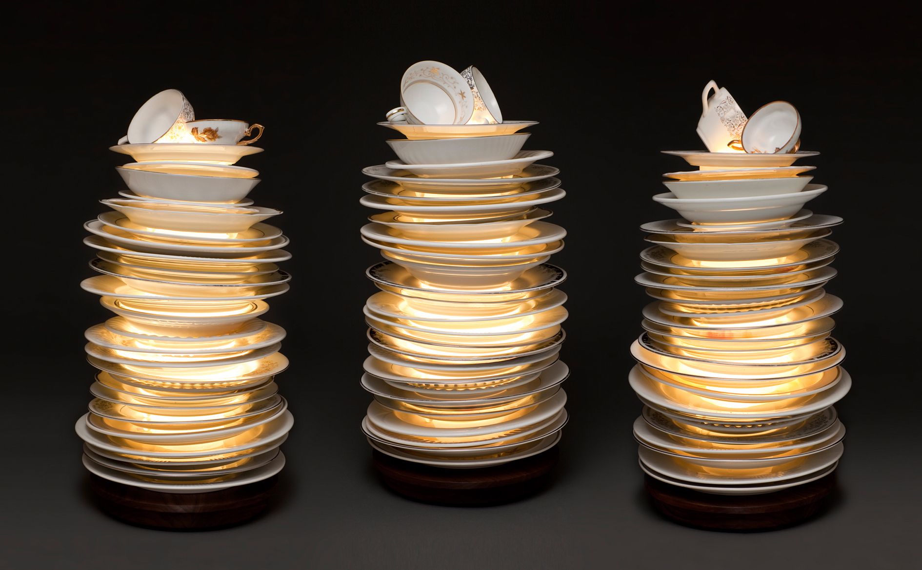 Stacked, lamp