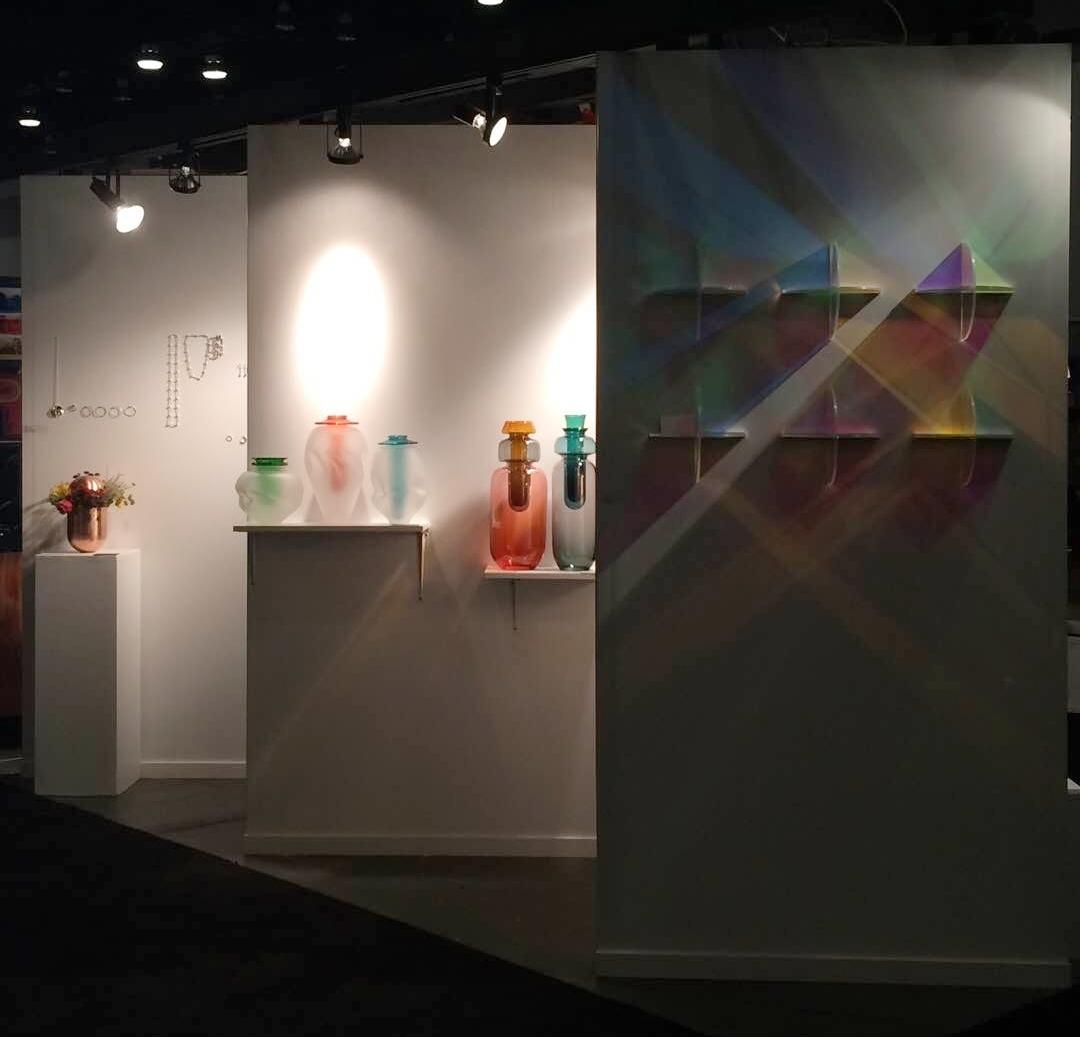 IDS Vancouver booth view 2, Brad Turner Glass Art & Desig  n