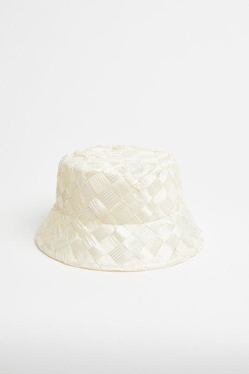 67646adc Bucket hat - Vintage straw white — HEIRLOOM