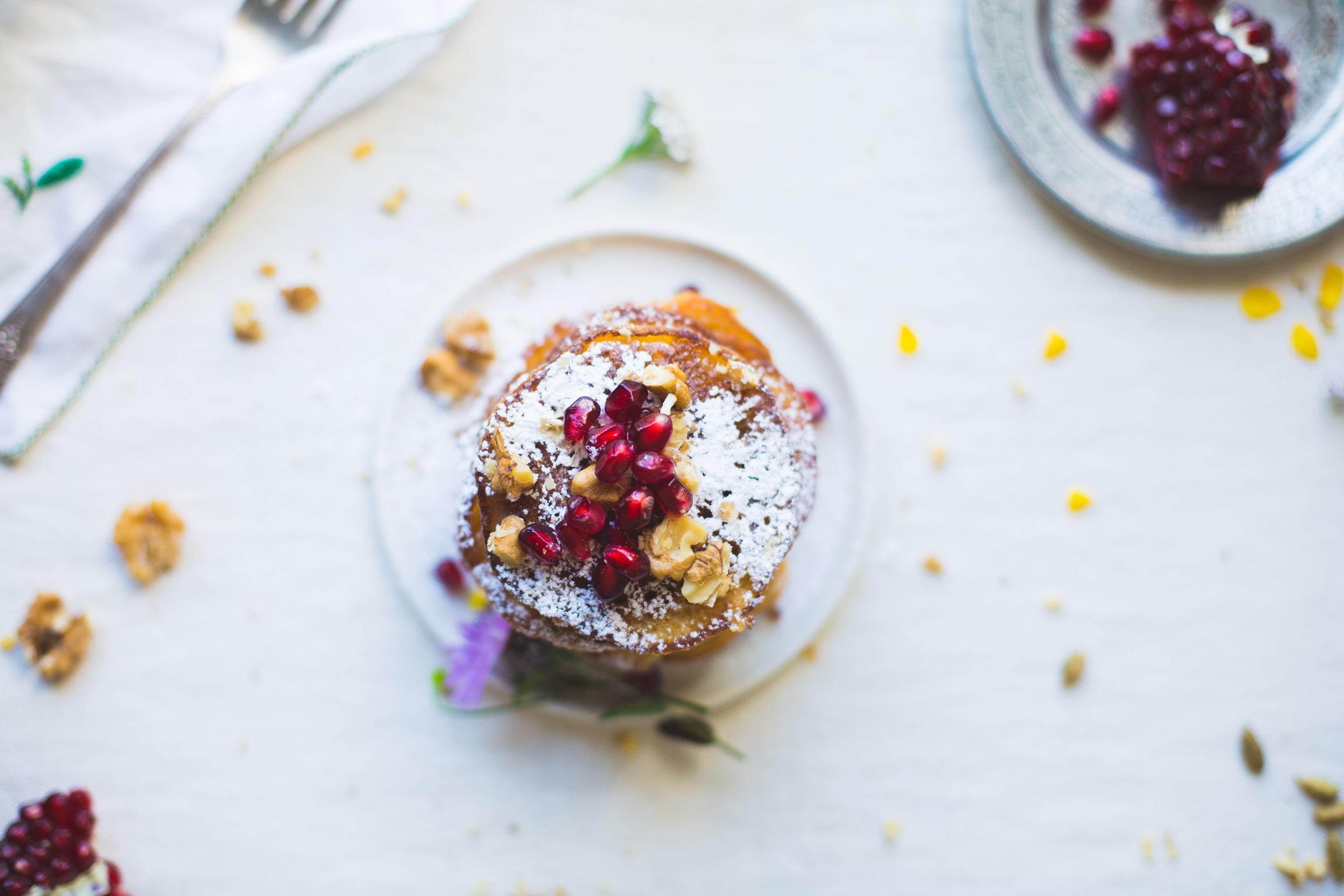 Kooie kaka Northern Iranian Pancake noghlemey