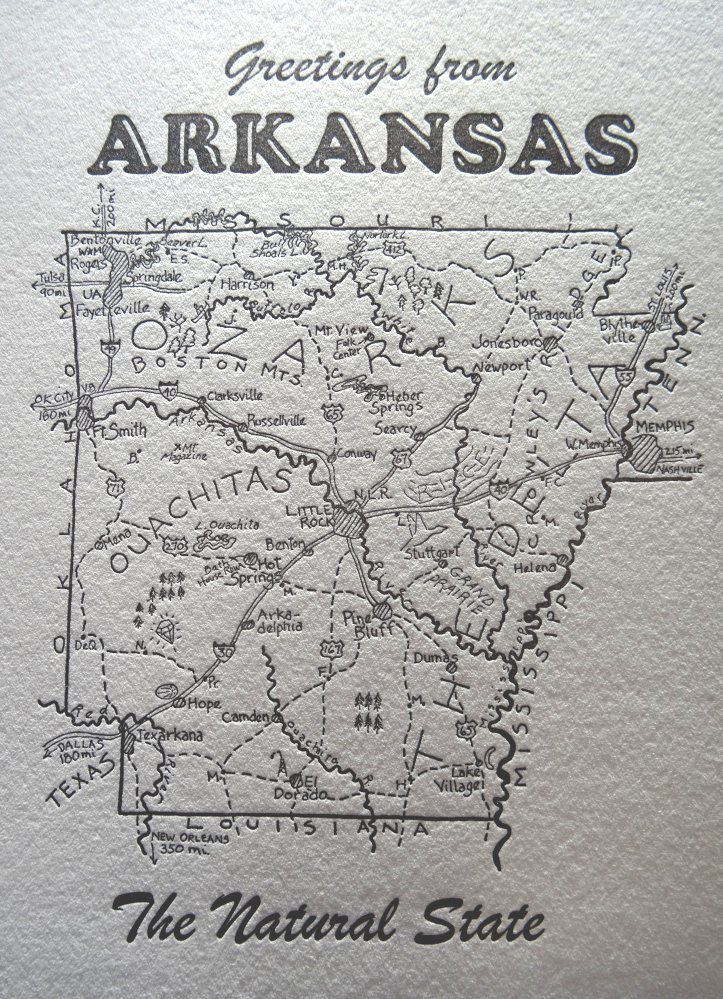 Arkansas Letterpress