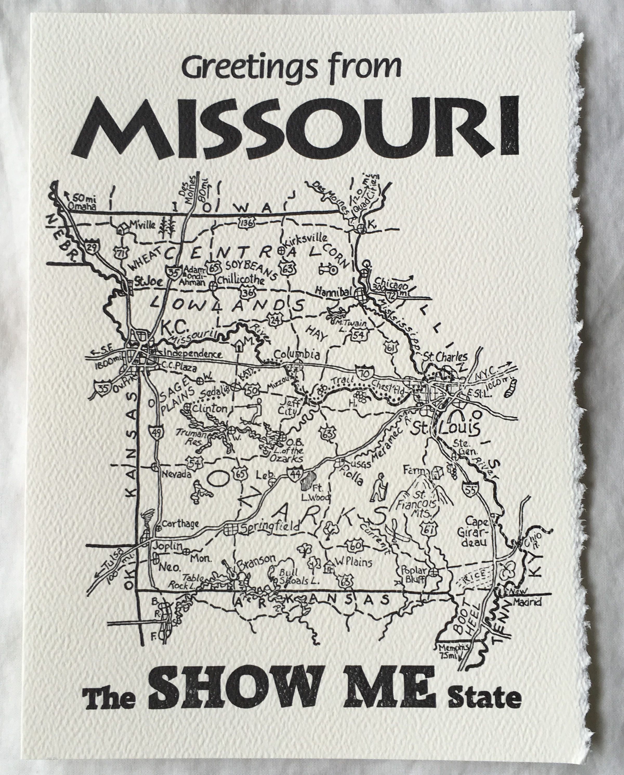 Missouri Letterpress