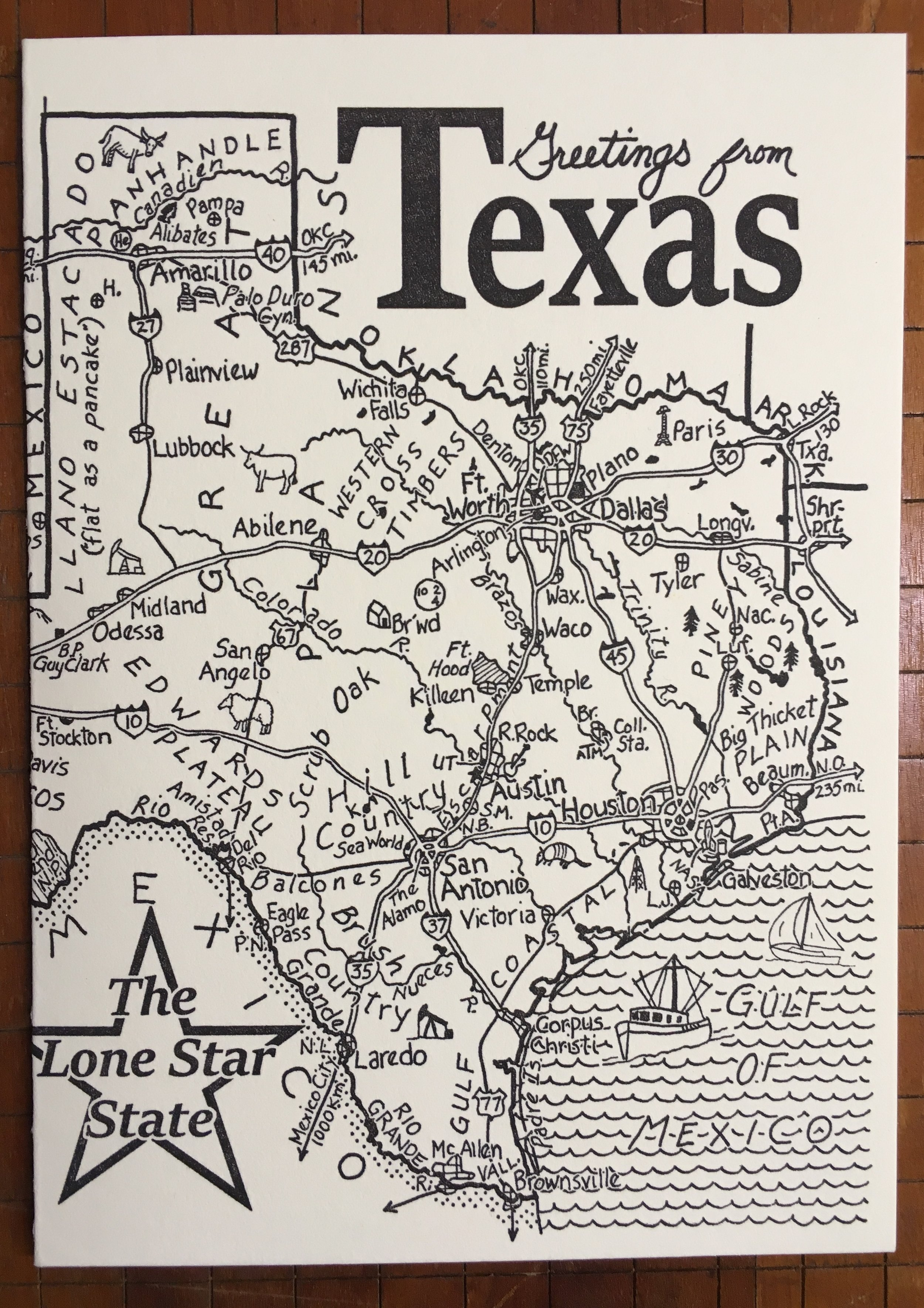 Texas Letterpress