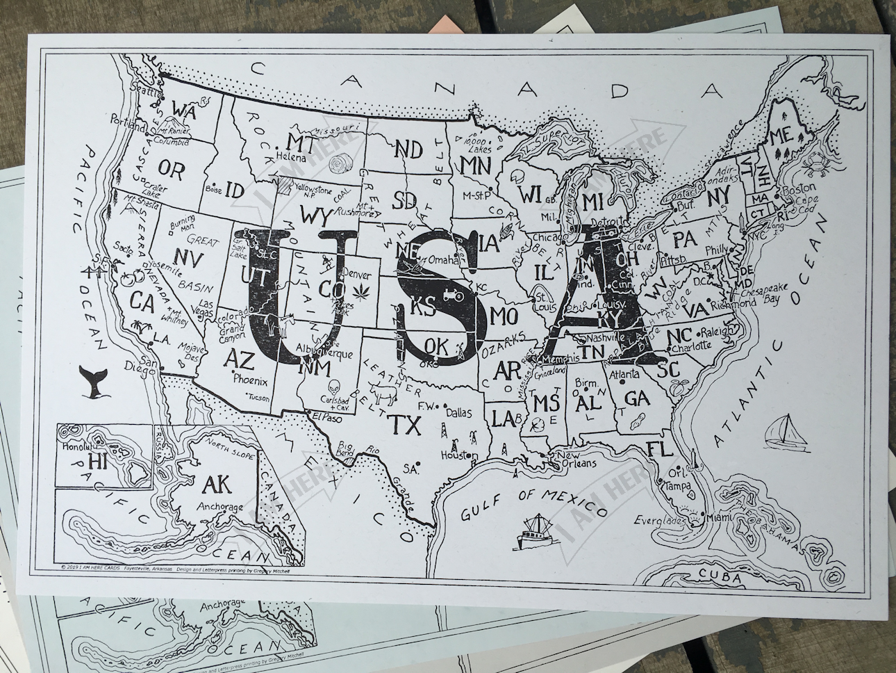 USA large