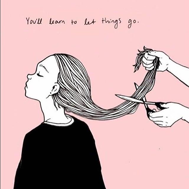 Sometimes you just need to drop the dead weight 💇🏻♀️💇🏽♀️ . . . #newhairnewyou #freshstart