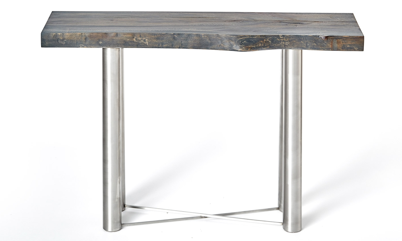 Blue Sycamore Sofa Table