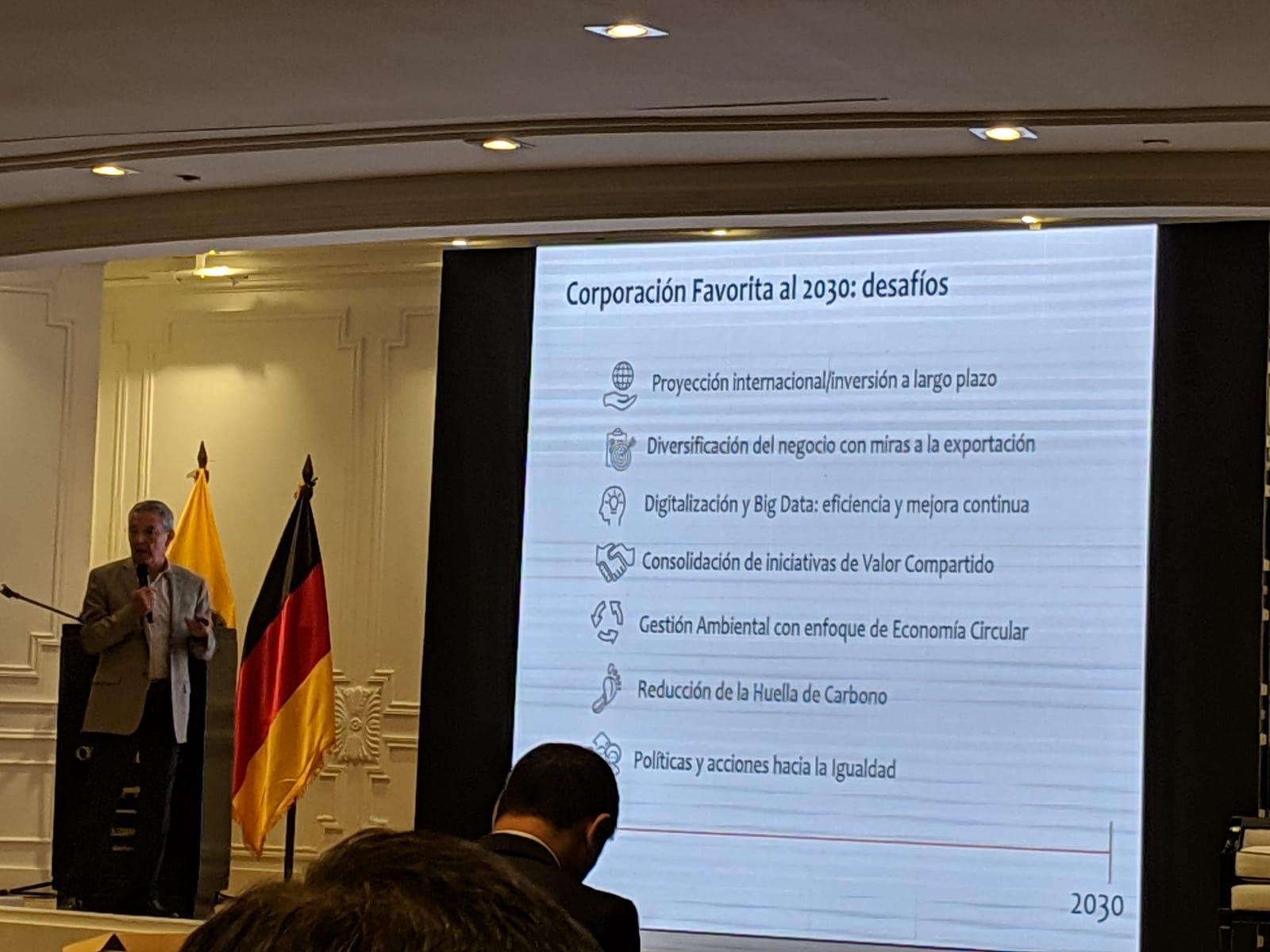 Rubén Salazar, Corporación La Favorita.