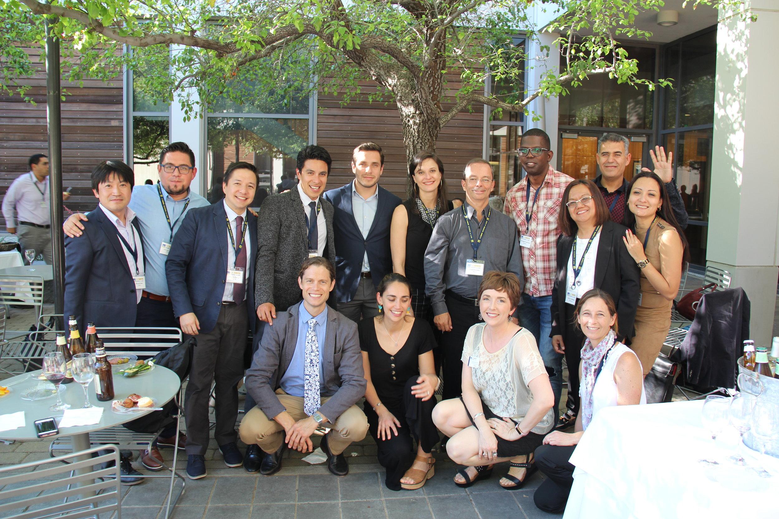Parte de la comunidad participante de PIPRA en el evento de cierre.