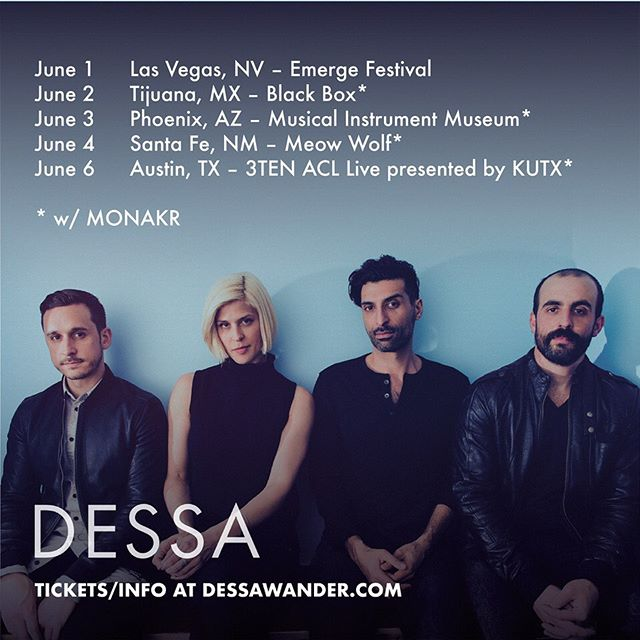 Jonathan already has his cowboy hat primed and packed. Excited for this one! #tourlife #dessa #monakr