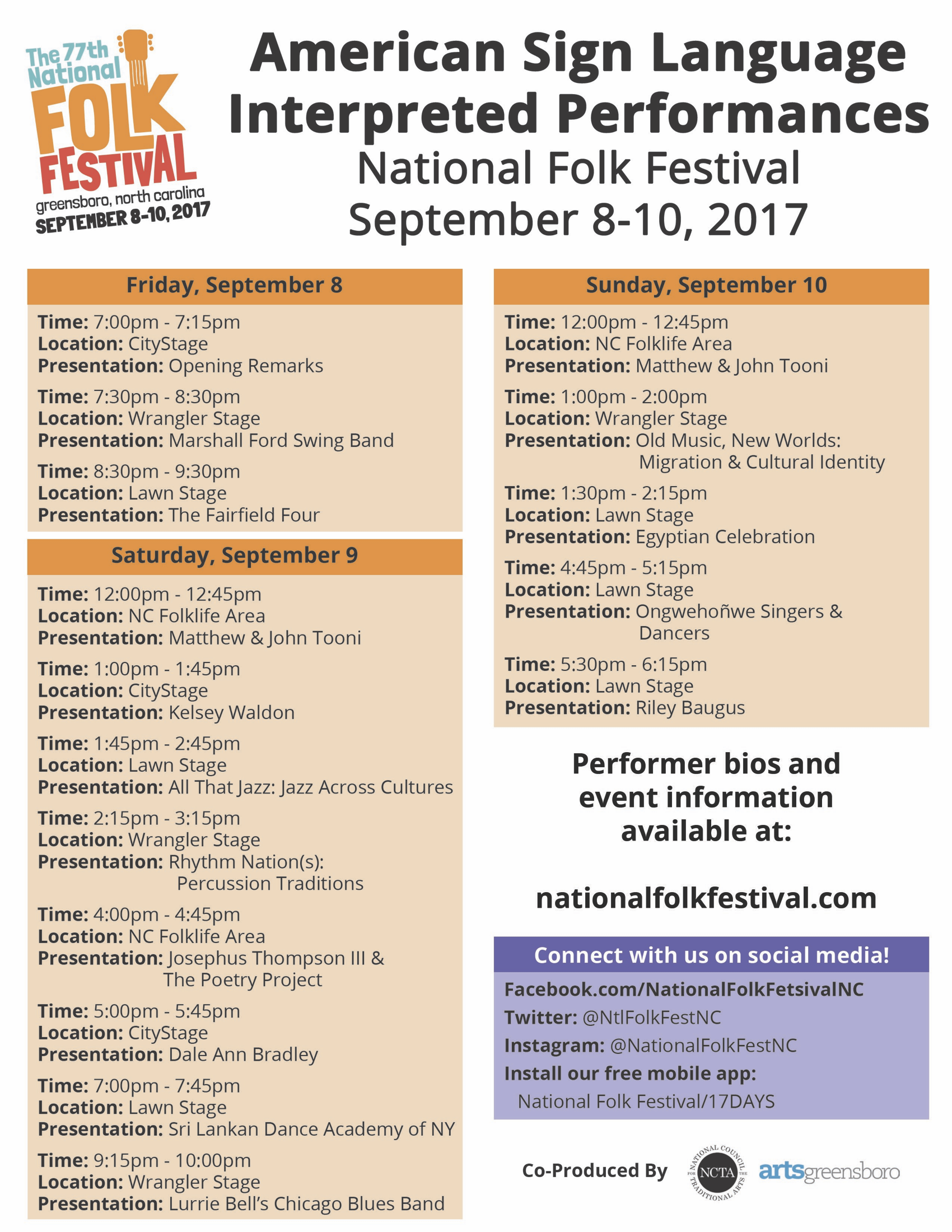 2017 NFF ASL Performance Schedule.png