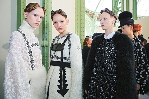 Moncler Paris FW16. Lead Hair: Duffy