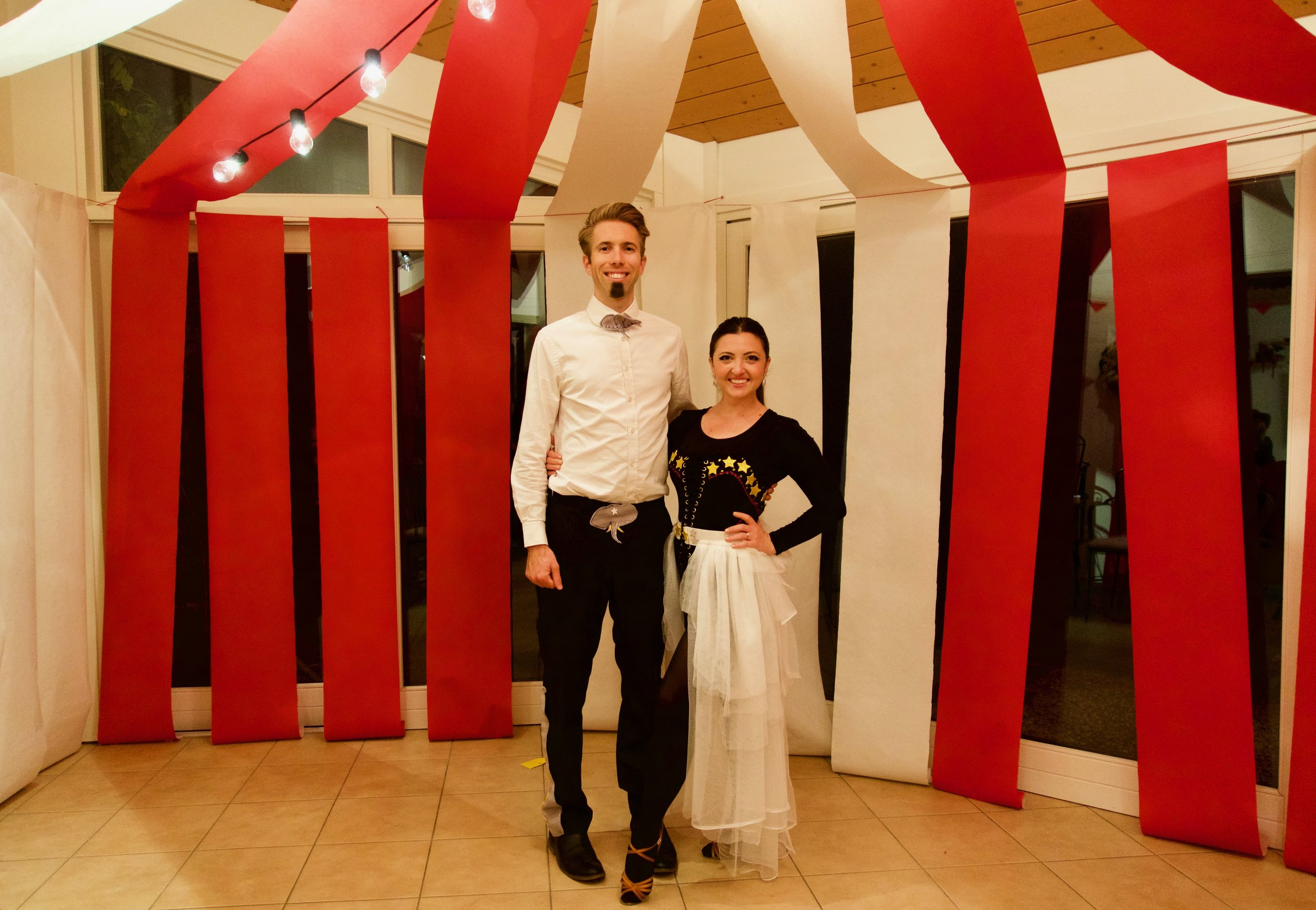 Circus Murder Mystery Party Couples Costume