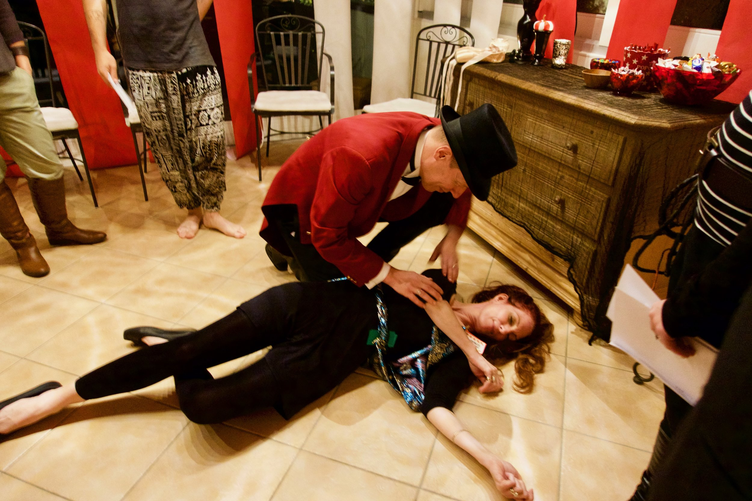 Circus Murder Mystery Party