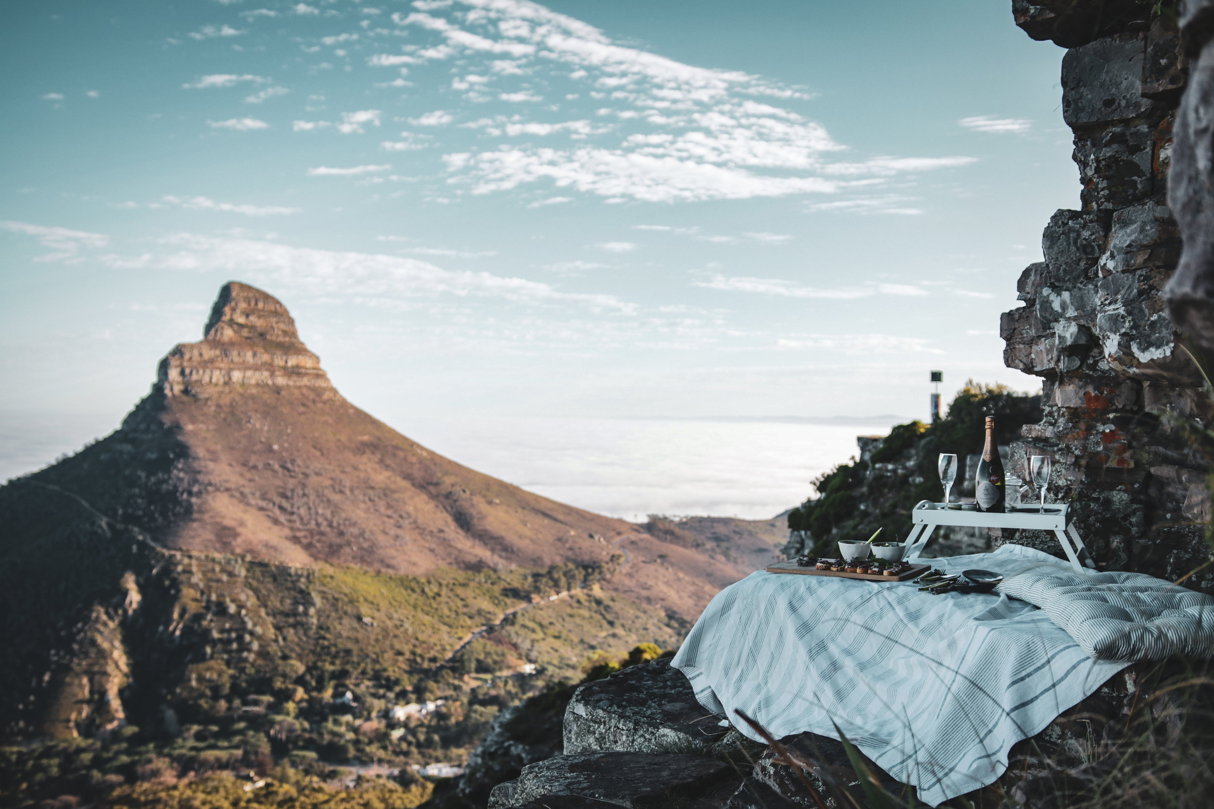 Micro Adventures - Hikes, picnics & sundowners at secluded secret spots.