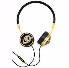 Frends - Not only do FRENDS make killer styles of headphones but they also provide great quality. Plus this set offers a pair of interchangeable caps and earrings.Shop Them Here
