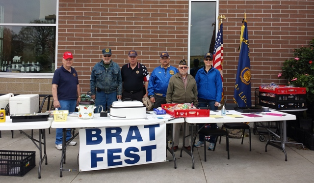 Post 501 Legion Members privileged to fundraising for veterans.