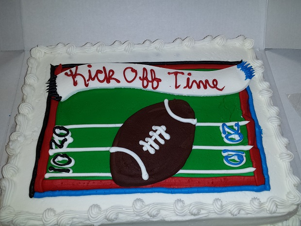 Super Bowl Cake.....No Packers!!