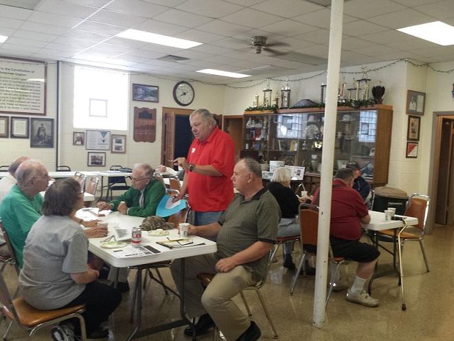 Attendance is increasing as veteran's share comradeship, cards & coffee.