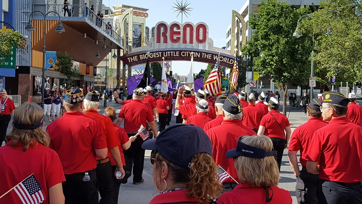 American Legion National Convention Parade, Reno, NV, 8-20-2017.