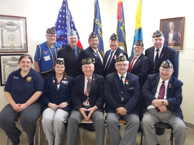 WI American Legion 2016 Convention Executive Committee