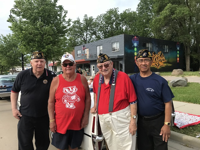 Memorial Day Parade Participants, 5-28-2018.