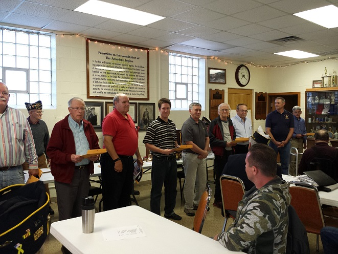 New member Initiation & welcome, May 13, 2015