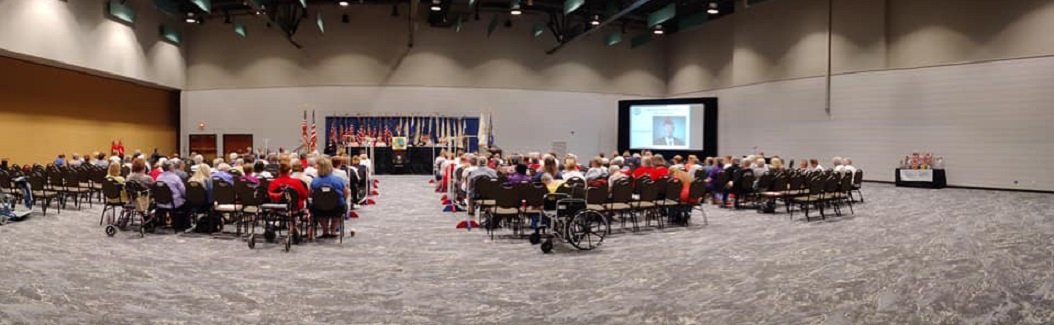 The WI Department of American Legion Auxiliary at the 2019 Convention.