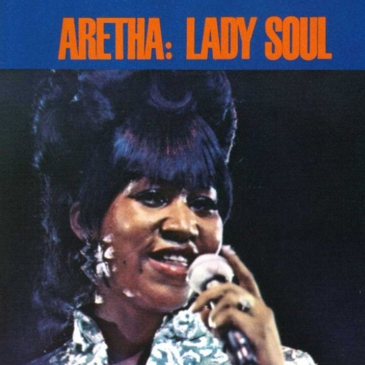 My favorite Lady Soul singer, Aretha Franklin. Her hair, make up, music, and fashion inspires me to create my personal vintage looks. I get lots of my inspirational styling from vintage album covers.