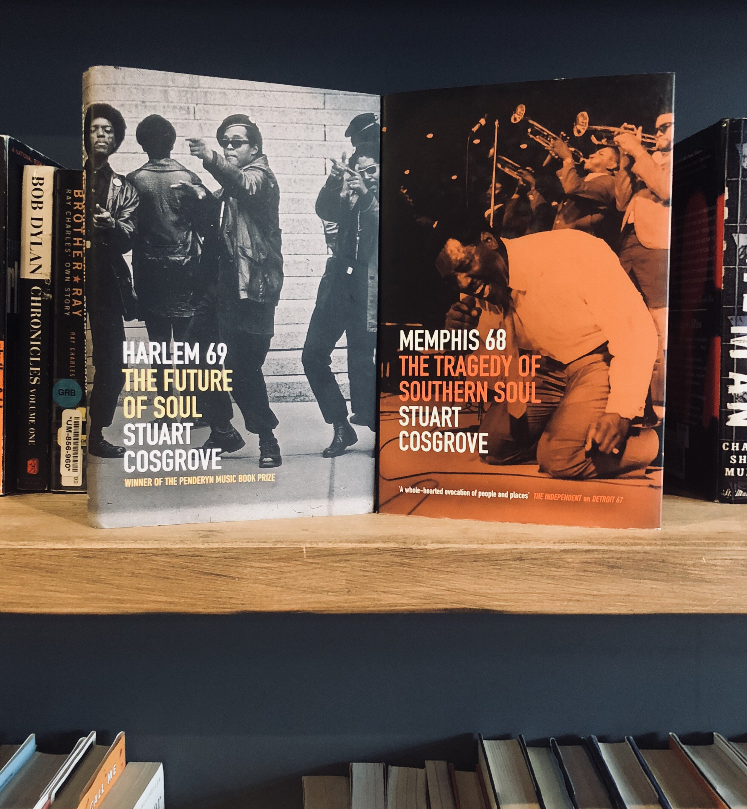 #ArtformBooks:Stuart Cosgrove'sEpic Trilogy of '60s Soul Music -