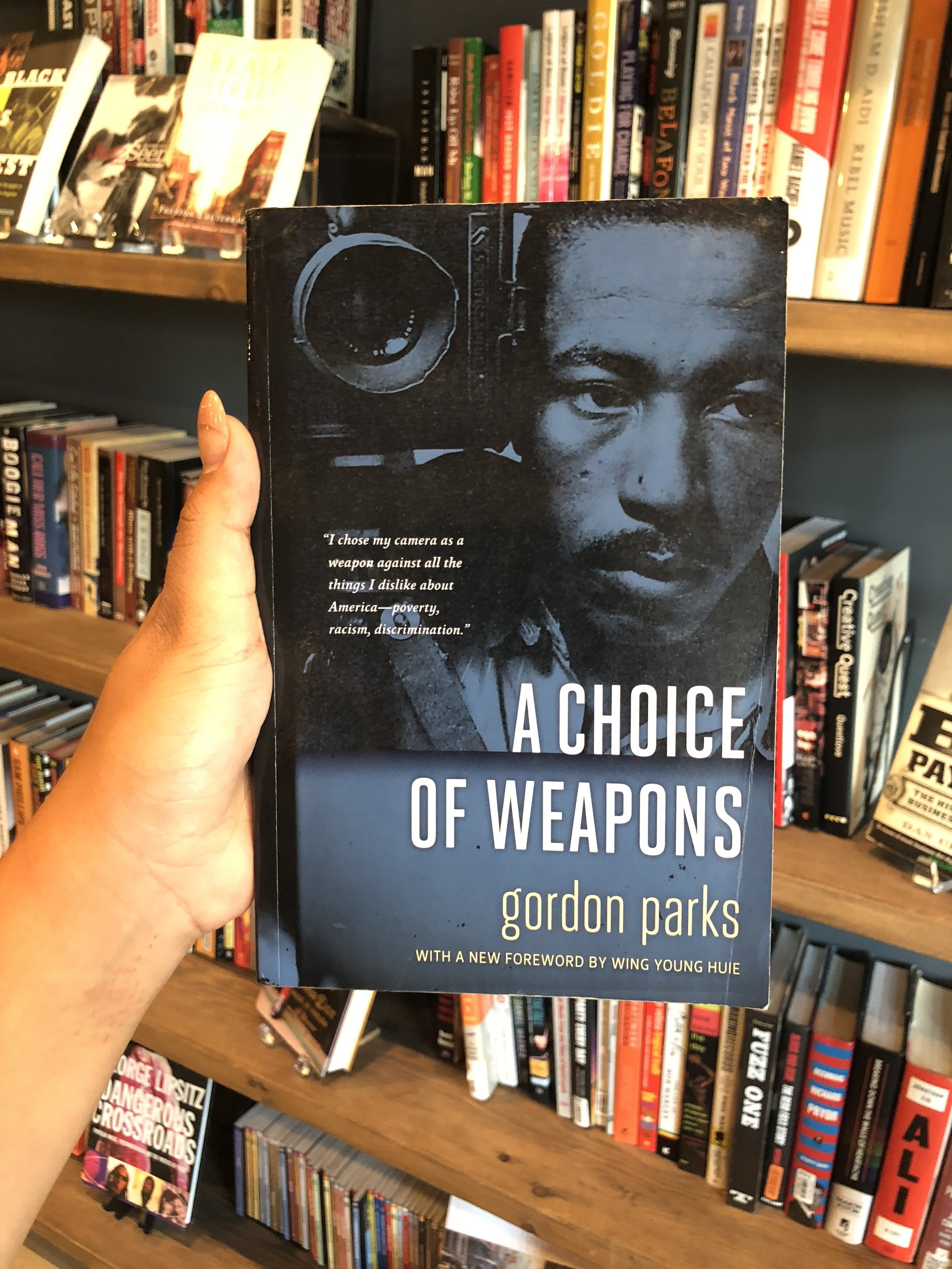 #ArtformBooks:Gordon Parks'A Choice Of Weapons -