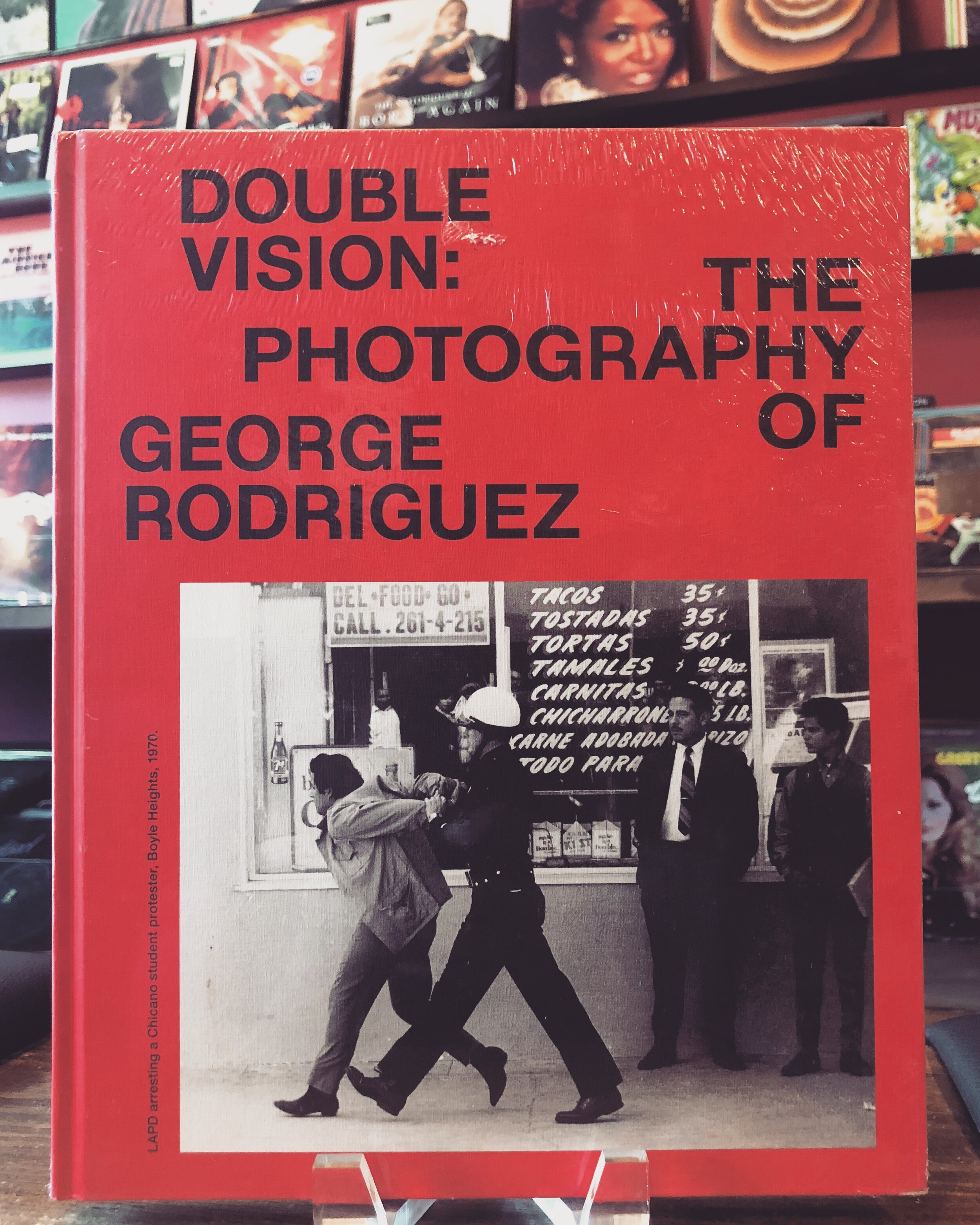 #ArtformBooks:George RodriguezDouble Vision - George Rodriguez touches more than just the surface on true #LA culture from the past 40 years in this photography book #DoubleVision. And, now you can see these images come to life at #ELAC's Vincent Price Arts Museum from now until the end of February!