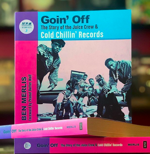 #ArtformBooks:Ben MerlisGoin' Off: The Story of the Juice Crew & Cold Chillin Records - This book is a special piece of history documenting the impact of the Juice Crew in Hip Hop and just how important the label Cold Chillin Records was during that era. Dive into this great read, as you learn directly from the pioneers.