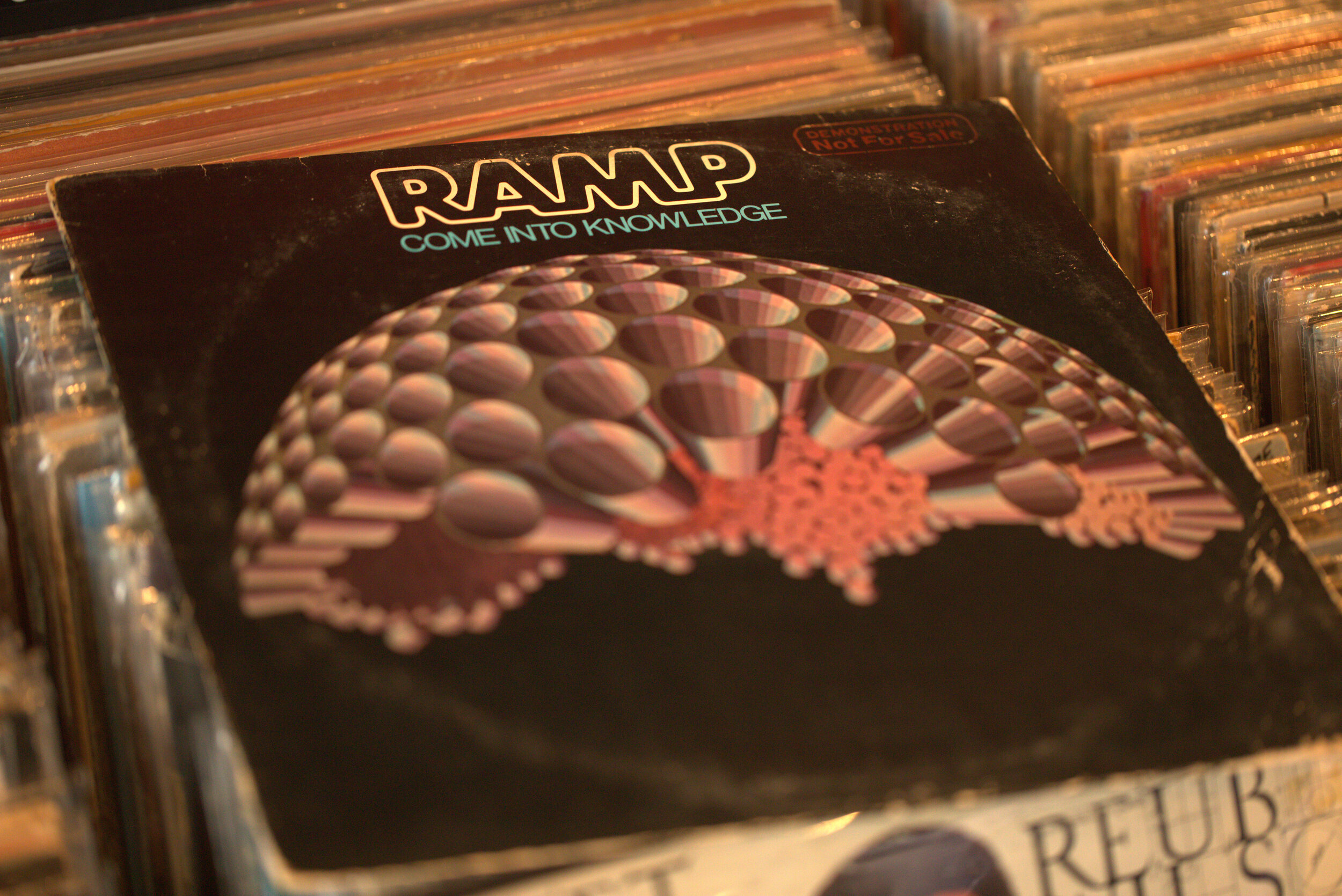 #ArtformRecords: RAMPCome Into Knowledge - RAMP stands for Roy Ayers Music Production. Though Roy Ayers is not a member of the group, he did write and produce songs on this iconic album.