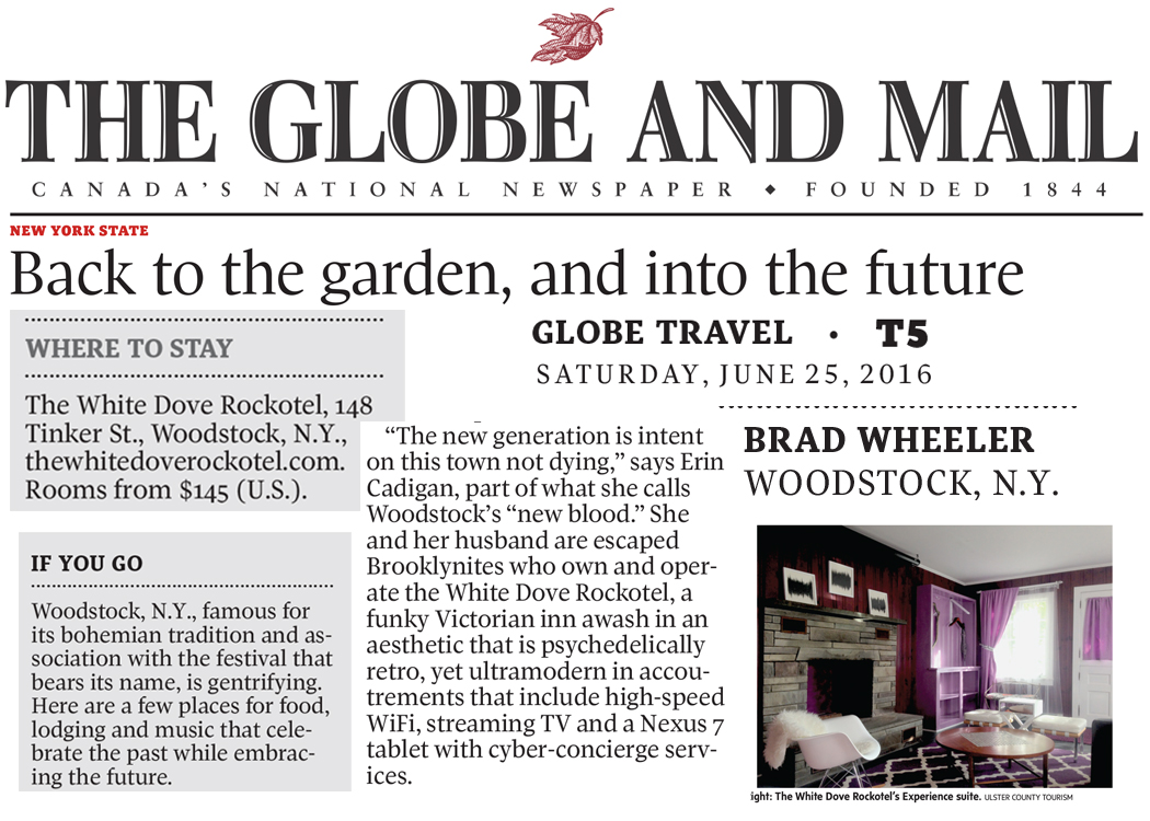 Globe and Mail June 16