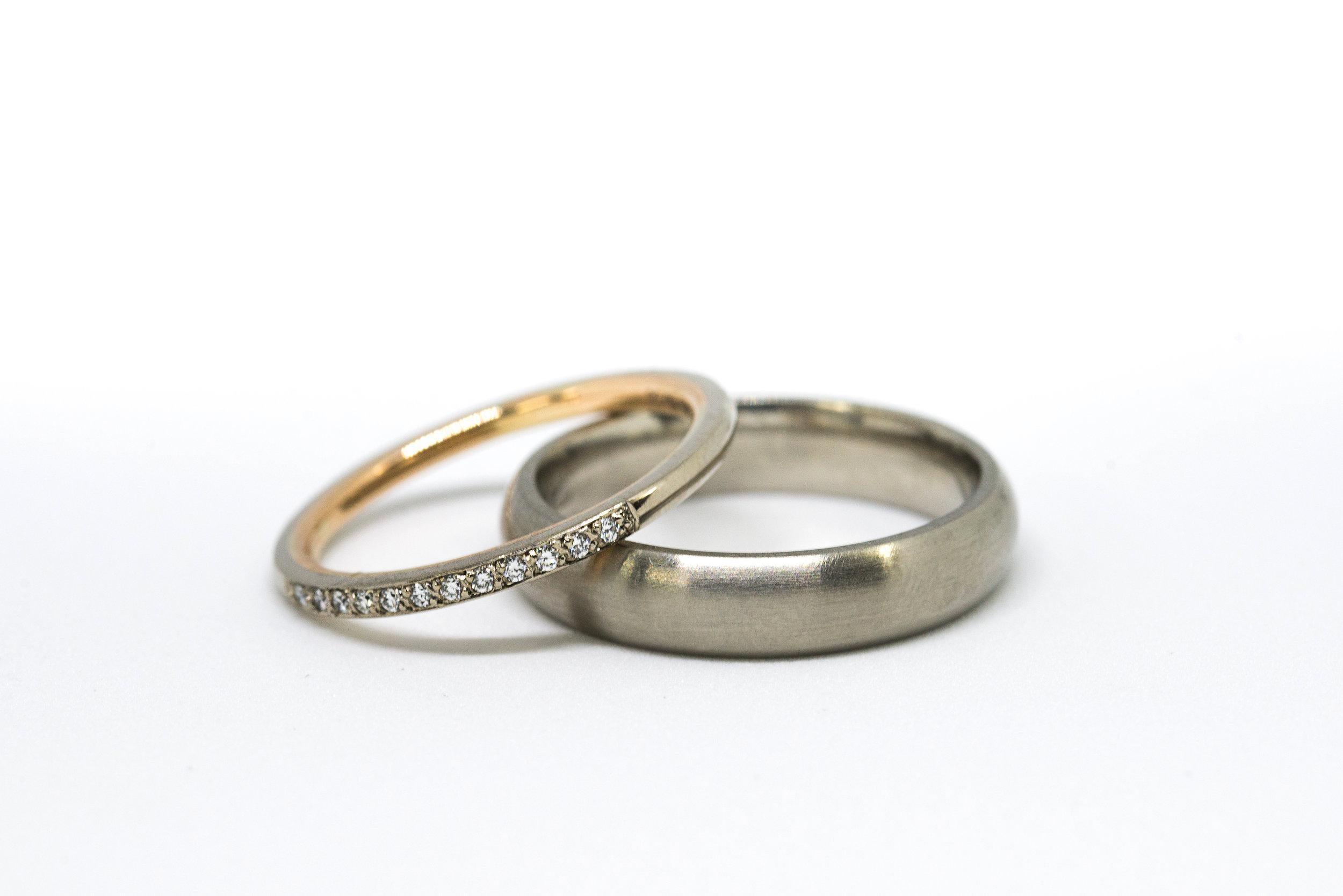 Bespoke Swindon oWedding rings