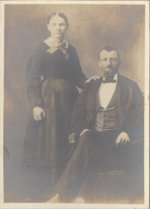 A.J. AND MARY MCROBERTS, CIRCA 1880