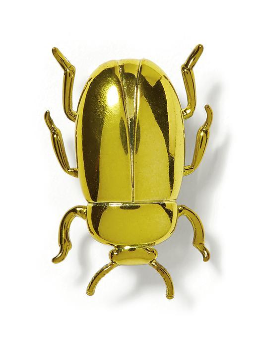 Beetle Brooch  available at Banana Republic- $28