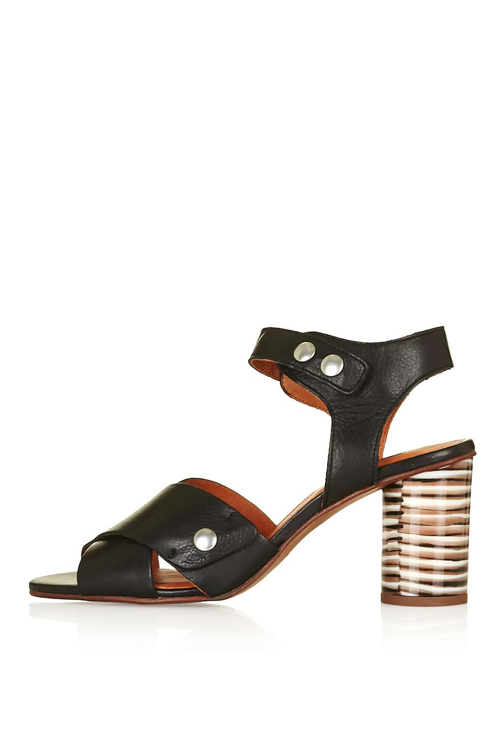 NATURE Cross Strap Sandals  available at Topshop- $125