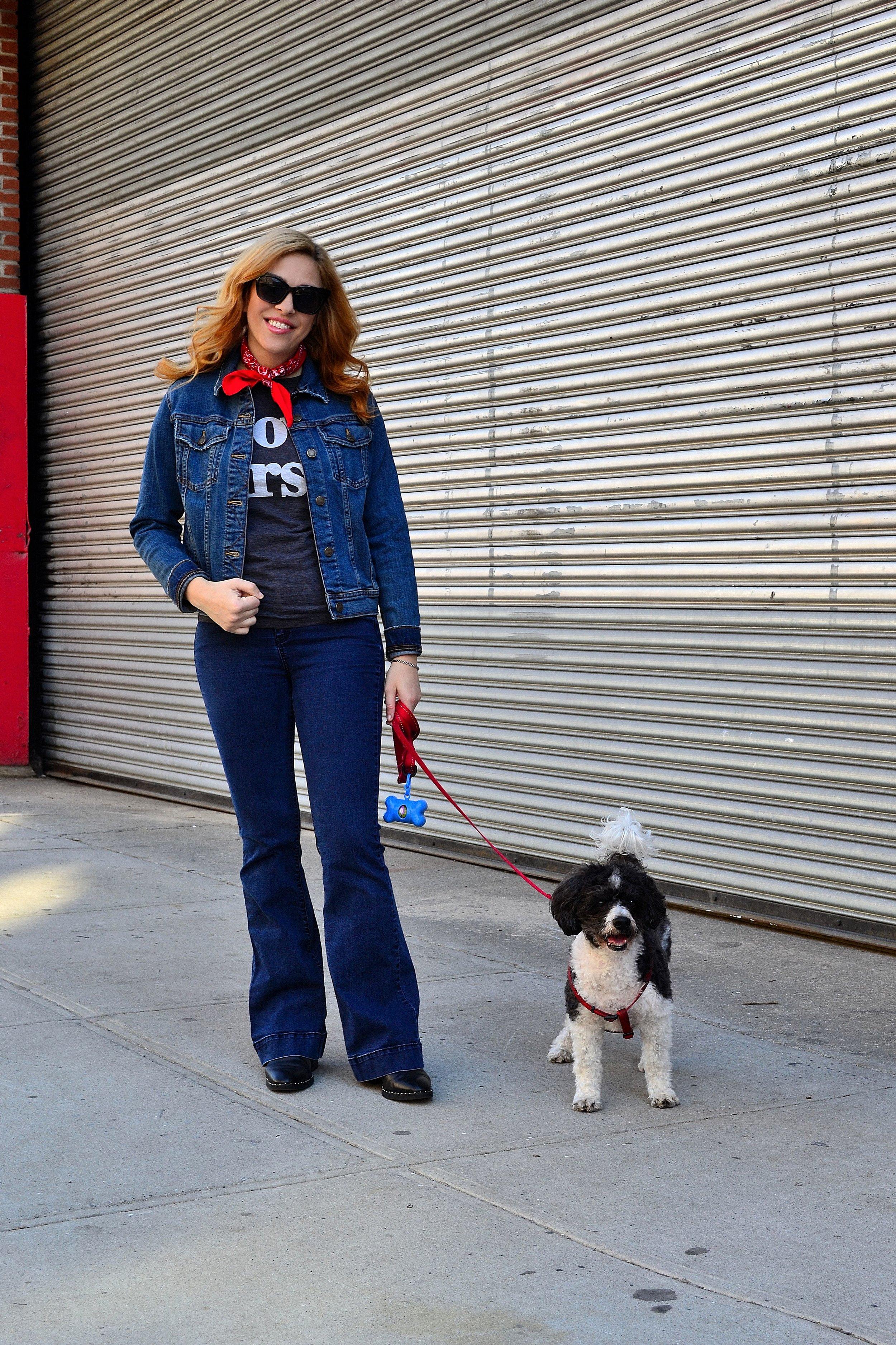 denim jacket- Zara ,  tshirt- J.Crew , jeans- Highline Collective,  boots- ASOS ,  sunglasses- ASOS