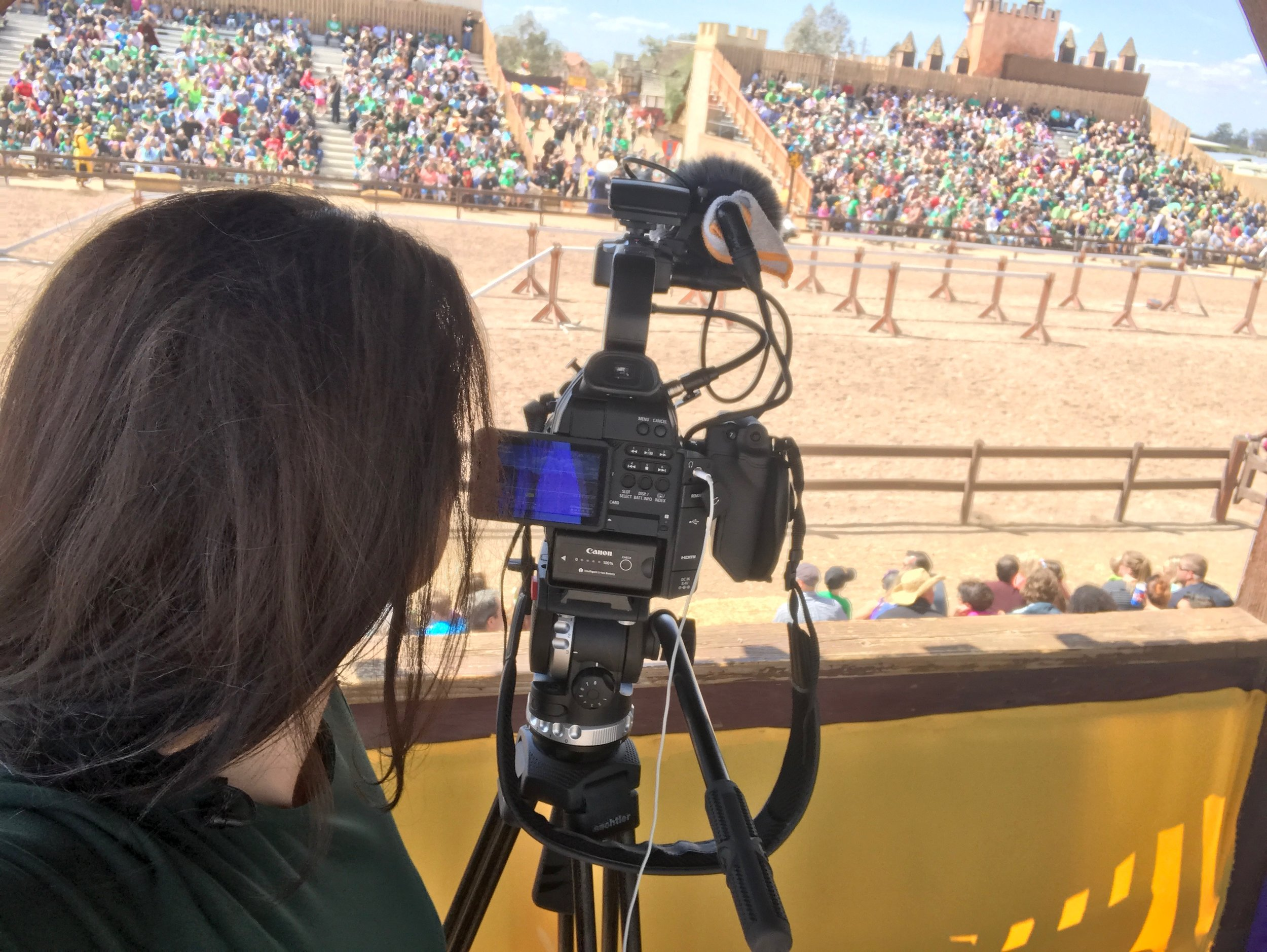 Covering the Jousting Tournament