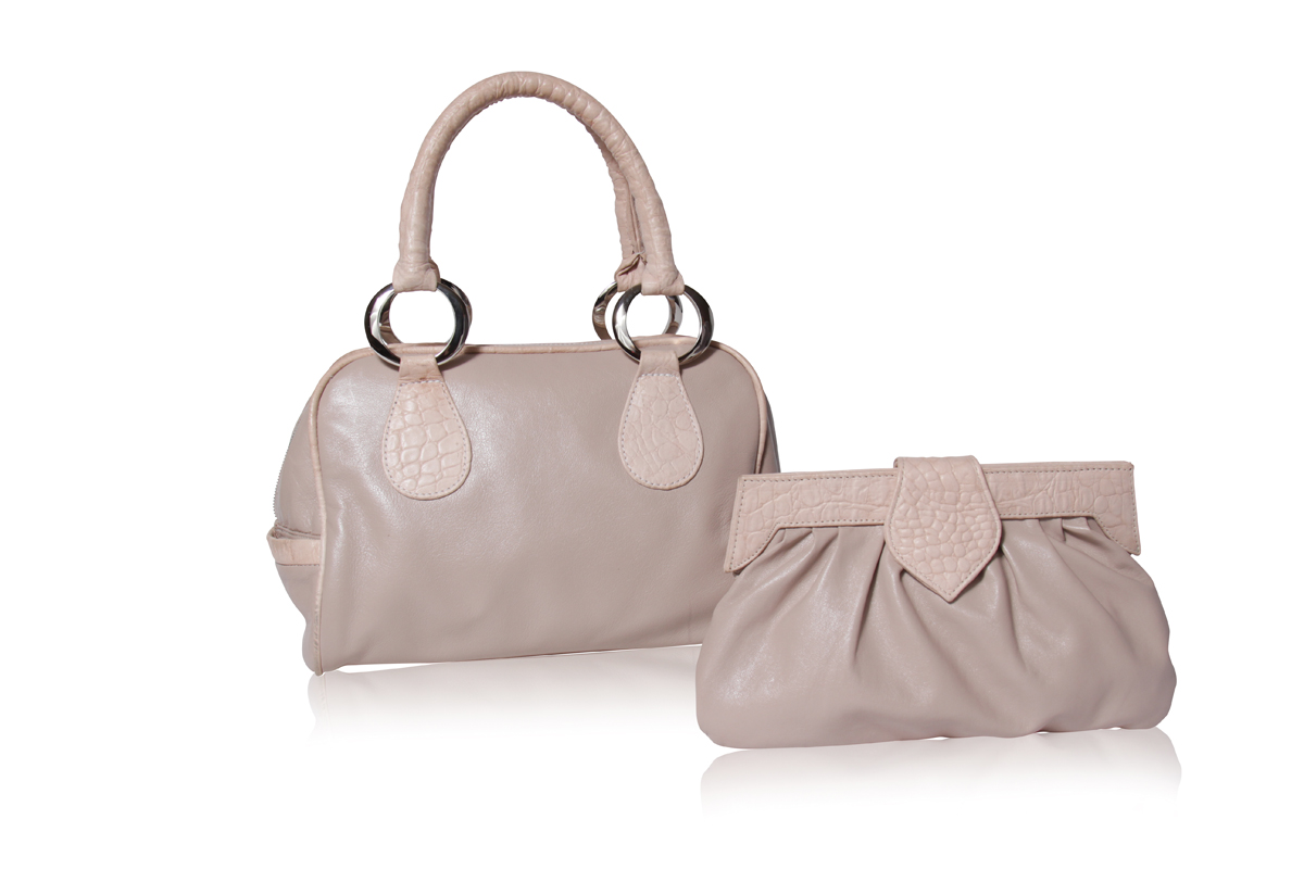 NUDE + NUDE CROC | Left - THE HILLARY | Right - THE YESSIE