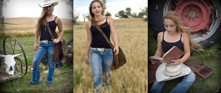 """Bennette's exploration of """"how a country girl would style JAMAH"""" redefines classic Americana."""