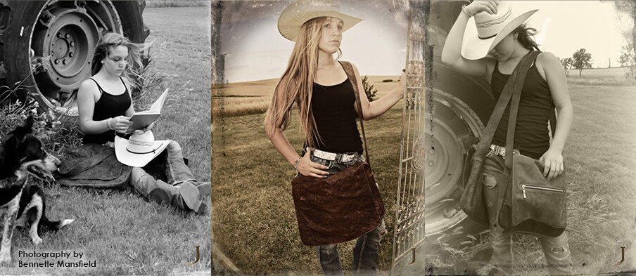 """Bennette, a self-described """"country girl,"""" produced a photo shoot that naturally captured a sophisticated aesthetic that was 100% authentic and timeless."""