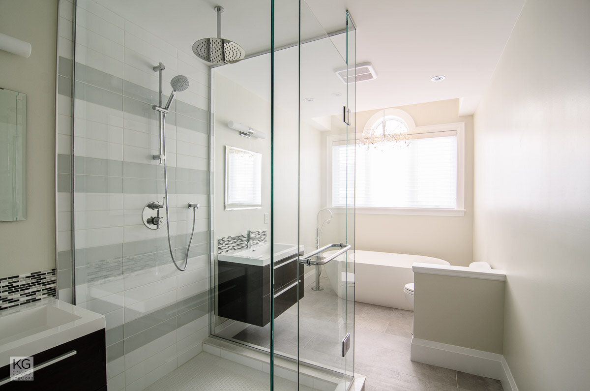 Kalli George Interiors Toronto Interior Decorator Bathroom Renovation Toronto
