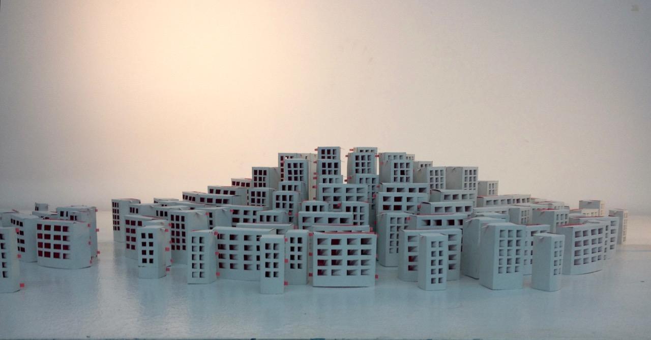 Paper building forms, 2016